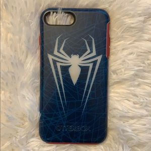 iPhone 8 Plus otterbox symmetry Spider-Man case